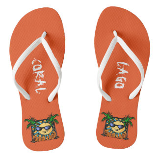 The Coral Lago Flip Flops! Thongs