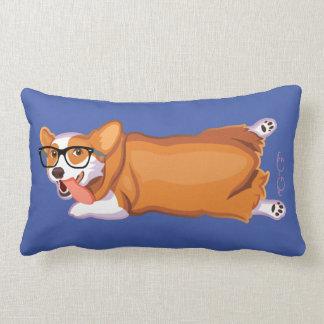 The Corgi Sploot Lumbar Pillow