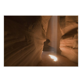 The Corkscrew in Upper Antelope Canyon, Navajo 2 Poster