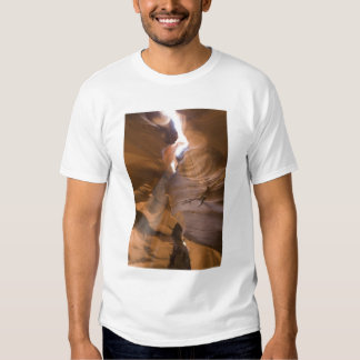 The Corkscrew in Upper Antelope Canyon, Navajo T Shirts