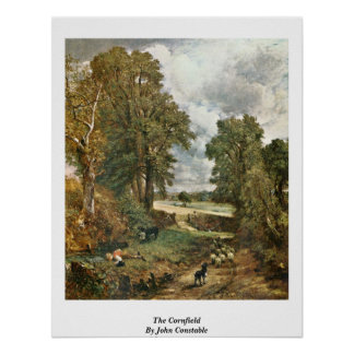 The Cornfield By John Constable Poster