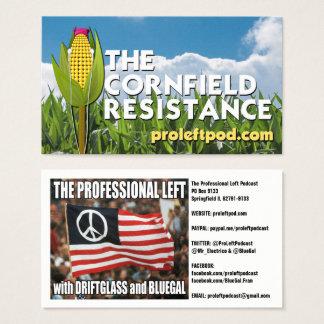 The Cornfield Resistance - Website Cards