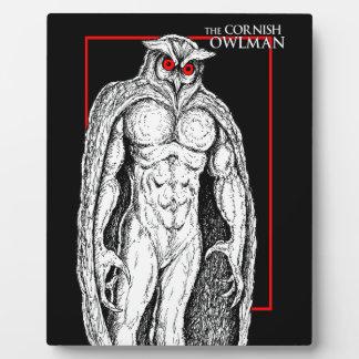 The Cornish Owlman Plaque