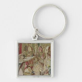 The Coronation of Charles V Keychains