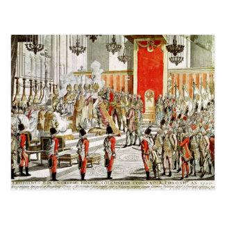 The Coronation of Leopold II  at Bratislava Postcard