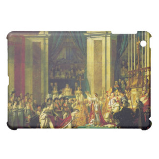The Coronation of Napoleon by Jacques Louis David iPad Mini Case