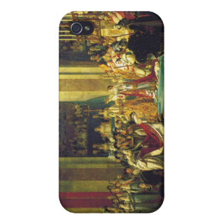 The Coronation of Napoleon by Jacques Louis David Cover For iPhone 4