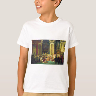 The Coronation of Napoleon by Jacques Louis David Tee Shirt