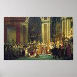 The Coronation of Napoleon Posters
