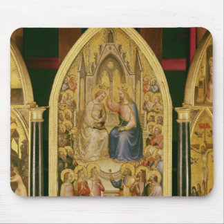 The Coronation of the Virgin, and Other Scenes Mouse Pad