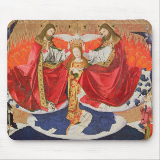 The Coronation of the Virgin, completed 1454 Mouse Pad