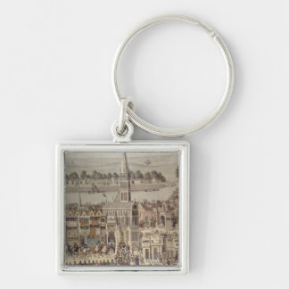 The Coronation Procession of King Edward VI Key Ring