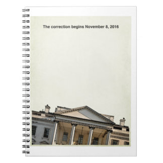 The Correction Begins  11-8-2016 Notebooks