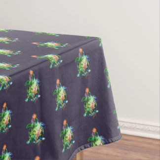 The Cosmic Color Bringer Tablecloth