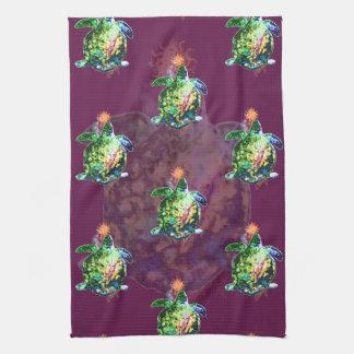 The Cosmic Color Bringer Tea Towel