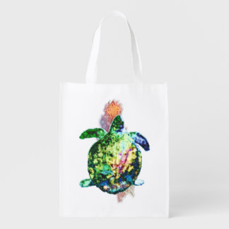 The Cosmic Colour Bringer Reusable Grocery Bag