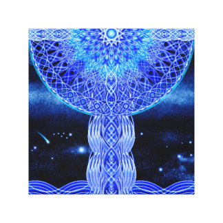 The Cosmic Cross Canvas Print