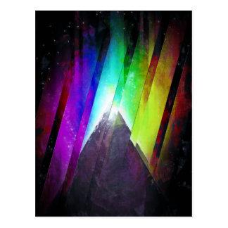 The Cosmic Pyramid Postcard