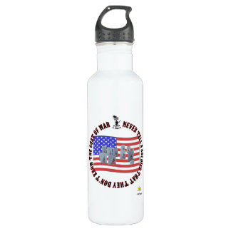 The cost of war 710 ml water bottle