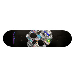 """The Cost"" Skate Deck"