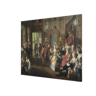 The Costume Ball Canvas Prints