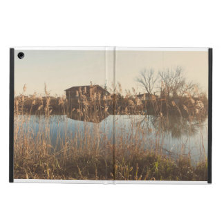 The cottage along the river iPad air case