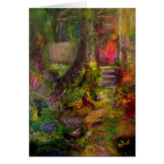 """""""The Cottage"""" Art notecard"""