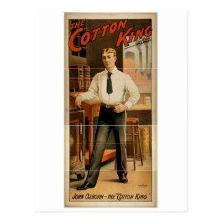 The Cotton King, 'John Osborn' Vintage Theater Post Cards