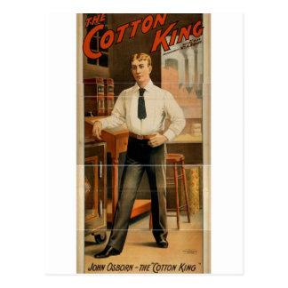 The Cotton King, 'John Osborn' Vintage Theater Post Card