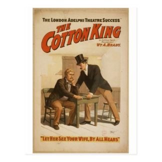 The Cotton King Postcards