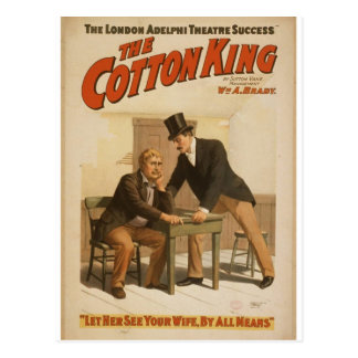 The Cotton King Post Card