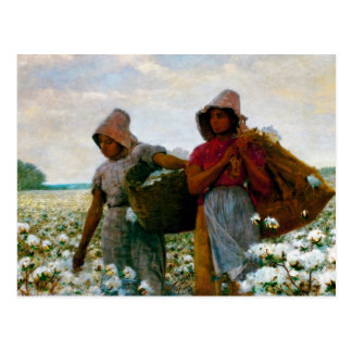 The Cotton Pickers [Homer] Postcard