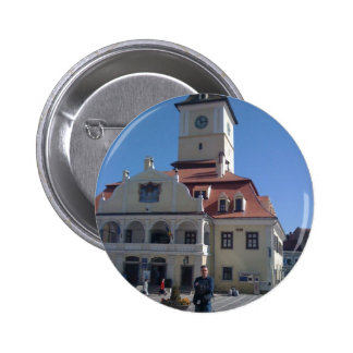 The Council House Brasov Romania Buttons