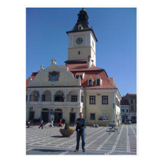 The Council House, Brasov, Romania Postcard