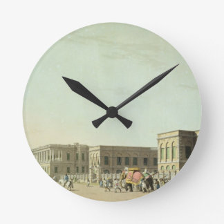 The Council House, Calcutta, plate 29 from 'Orient Round Wall Clocks