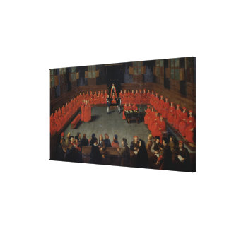 The Council of Malines Canvas Print