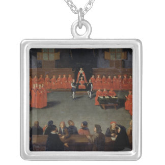The Council of Malines Square Pendant Necklace