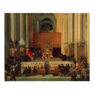 The Council of Trent, 4th December 1563 Print