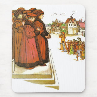 The Council Stood Mouse Pad