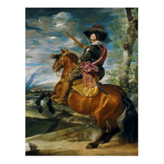 The Count Duke Of Olivares by Diego Velazquez 1634 Postcard