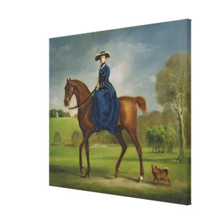The Countess of Coningsby in the Costume of the Ch Gallery Wrapped Canvas