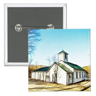 The Country Chapel Pin