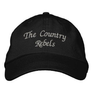 The Country Rebels adjustable hat Embroidered Hat