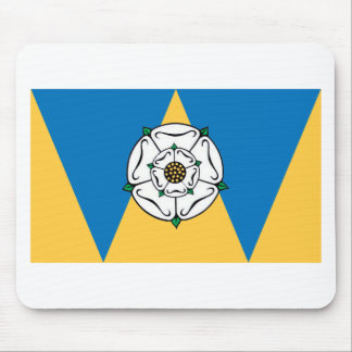 The County Flag of West Yorkshire Mousepads