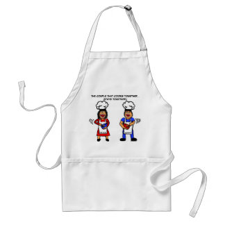 The Couple That Cooks Together Standard Apron