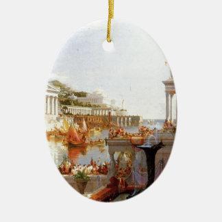 The Course of Empire: The Consummation ... Ceramic Ornament