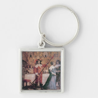 The Court Ball Key Ring