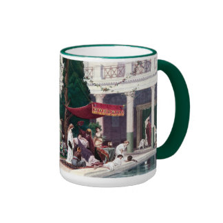 The Court of a Roman House Coffee Mugs