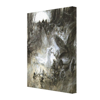 """The Court of Faerie"" Canvas Print"