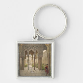 The Court of the Lions, the Alhambra, Granada, 185 Key Ring